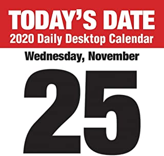 2020 Todays Date Daily Desk Calendar, by TF Publishing