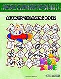 Dinosaur Coloring Book For Kids Ages 2 4: 35 Activity Pachycephalosaurus, Monolophosaurus, Pliosaurus, Kronosaurus, Ouranosaurus, Ouranosaurus, ... Image Quizzes Words Activity Coloring Book