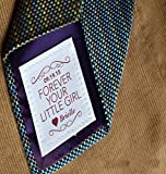 Father of the Bride Gift • Personalized Tie Patch • Suit Label •...