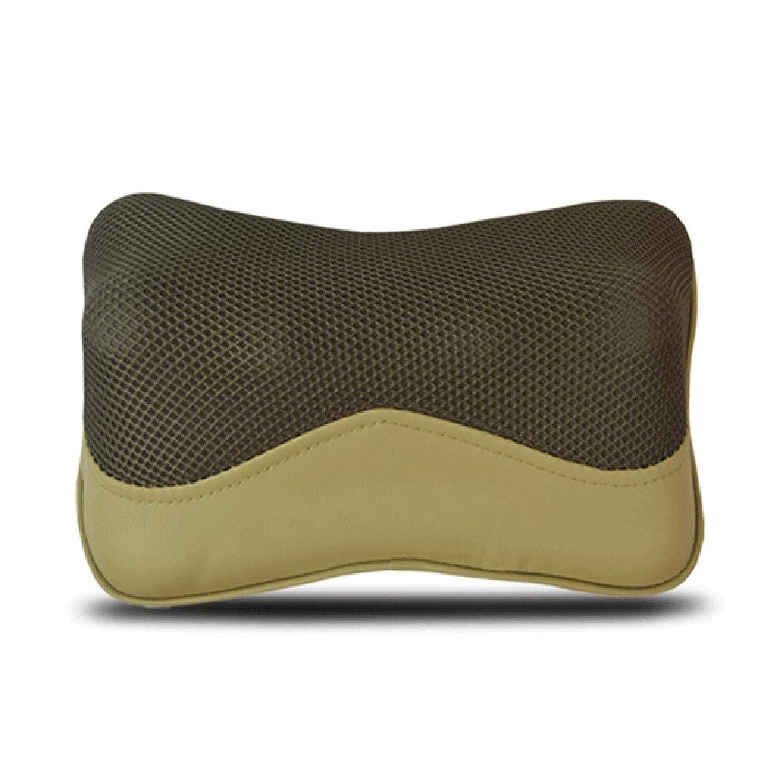 静的無駄な控えるAIWO首マッサージャー枕熱多機能インテリジェント頚椎と首マッサージャー電気指圧深く混練肩背中筋肉痛みを和らげる