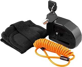 KKmoon Disc Brake Lock with Alarm, Motorcycle Bicycle Alarm Lock,110 Decibel Security Anti-Theft Waterproof Lock