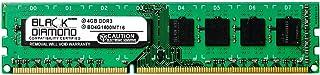 4GB RAM Memory for Gigabyte GA-7 Series GA-790FXTA-UD5 240pin PC3-12800 DDR3 DIMM 1600MHz Black Diamond Memory Module Upgrade