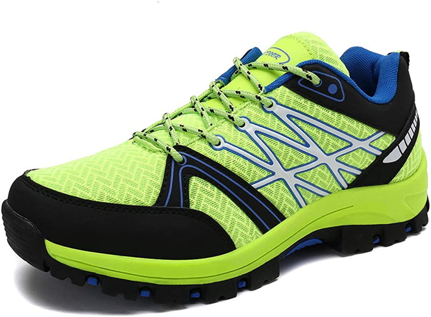 ZFLIN Hiking shoes Lightweight Outdoor Large Size Hiking Leisure Sports shoes-green-43