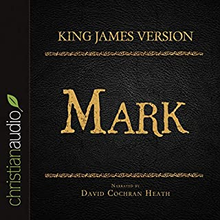 Holy Bible in Audio - King James Version: Mark audiobook cover art
