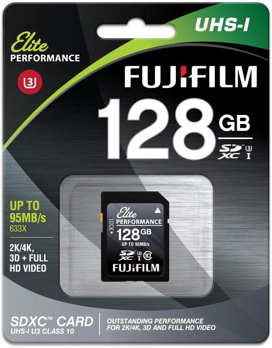 Fujifilm 128GB SDHC UHS-I U3 CRD