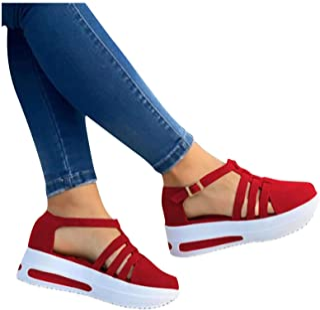 Modelisa Zapatillas Merceditas Sandalia Ligero para Mujer