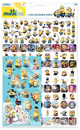 Paper Projects Minions Megapack-Aufkleber