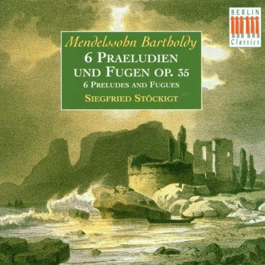 6 Preludes & Fugues Op 35