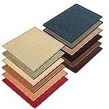 Floordirekt Sisal Fußmatte Teppich Vorleger Kratzteppich Katzenmöbel Kratzmatte Sisalmatte, widerstandsfähig & in vielen Farben und Größen erhältlich (60 x 80 cm, Natur) - 2