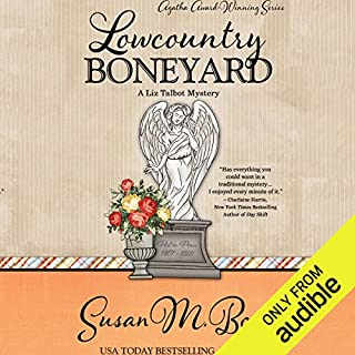 Lowcountry Boneyard     A Liz Talbot Mystery, Book 3              By:                                                                                                                                 Susan M. Boyer                               Narrated by:                                                                                                                                 Loretta Rawlins                      Length: 11 hrs     679 ratings     Overall 4.6