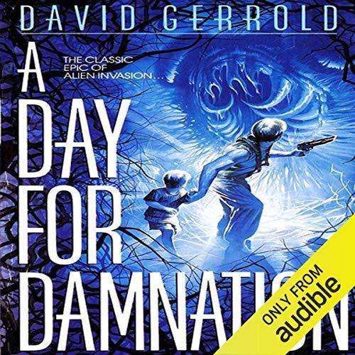 Diseño de la portada del título A Day for Damnation