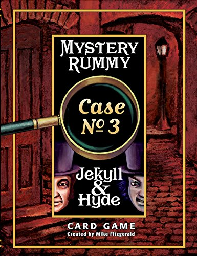 Jekyll & Hyde Card Game (Mystery Rummy Case)