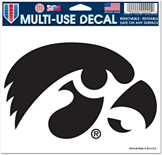 WinCraft NCAA University of Iowa 20232041 Multi-Use Colored Decal, 5