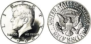 1964 uncirculated kennedy half dollar