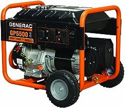 generac 5939 gp5500 portable generator