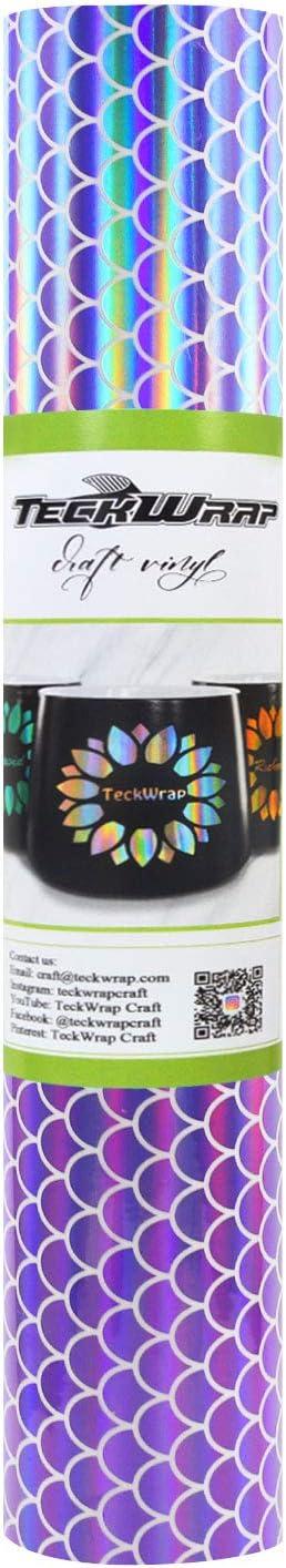 TECKWRAP Holographic Mosaic Rainbow Chrome x Vinyl Ranking TOP1 5ft Merm Baltimore Mall 1ft