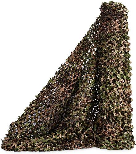 Camouflage parasol Des Bois Filet De Camouflage Chasse Militaire Auvent Camo Fête à Thème Den Décoration Filets Tir Aveugle Cacher (Taille   8x8m)