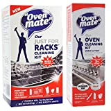 Oven Mate Cleaner Just For Racks Shelf Cleaning Gel & Deep Clean Oven Cleaner Kit