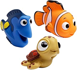 3Pcs Set Finding Nemo Baby Bath Squirt Toys.
