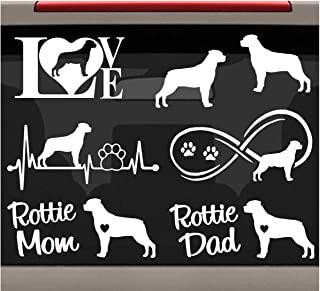 Animal Dog I Heart Love my Pomeranian Decal Sticker Vinyl Car Window Tumblers Wall Laptops Cellphones Phones Tablets Ipads Helmets Motorcycles Computer Towers V and T Gifts