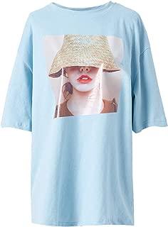 Women's Fashion Print T-Shirt Casual Daily Tee