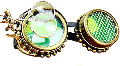 Easy Go Shopping Cosplay Steampunk Goggles Party Masvoitureade Accessoires Punk Glasses