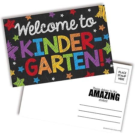 4860 Teacher Created Resources Welcome to Kindergarten Postcards