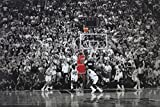 Michael Jordan/Last Shot Title Winning Last Shot In Chicago