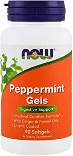 NOW Supplements, Peppermint Gels, 90 Softgels