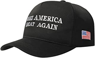 Bestmaple Make America Great Again Hat Donald Trump Republican Hat Cap Unisex Cotton Adjustable Baseball Cap