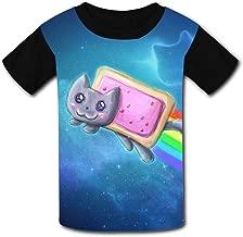 Kids Custom Tactical N-y-a-n Cat Rainbow T-Shirts Boys Girls Teenager Tee Shirt Children Youth Graphics Tees