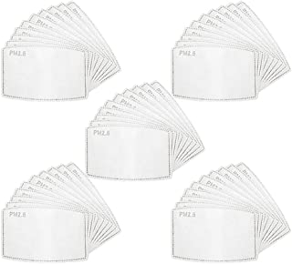 PM 2.5 Active Carbon Filters for Mesh or Neoprene Mask(50)