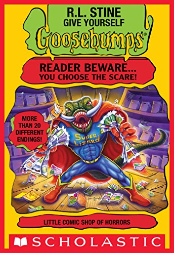Little Comic Shop of Horrors (Give Yourself Goosebumps #17) (English Edition)