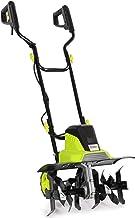 Electric Tiller - 1500W Garden Power Soil Cultivator/Rotavator with 6 Steel Blades, 45cm Cutting Width & 22cm Tilling Dept...