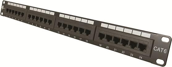 Vertical Cable Cat6 24 Port 19