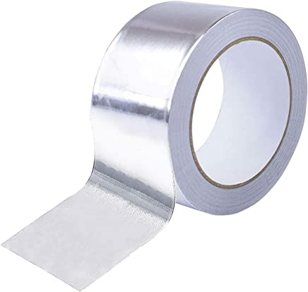 Aluminum Tape Aluminum Foil Tape Good for HVAC Ducts Insulation and More 50m
