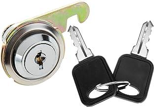 PrimeMatik - 19 mm x M18 Cam Lock met platte sleutel