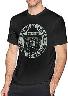 Obagaty Smokey The Bear Keep It Green Men's Soft Short Sleeve T-Shirt Black