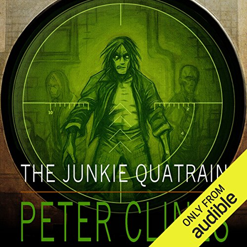 The Junkie Quatrain audiobook cover art