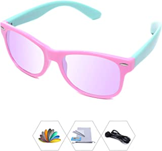 AODUOKE Kids Polarized Sunglasses With Strap For Boys...