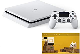 PlayStation 4 グレイシャー・ホワイト 500GB (CUH-2200AB02)  【特典】 オリジナルカスタムテーマ (配信)【メーカー生産終了】
