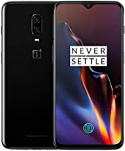 OnePlus 6T A6013 128GB Storage + 8GB Memory, 6.41 inch AMOLED Display, Android 9 - Mirror Black US Version VERIZON + GSM T...