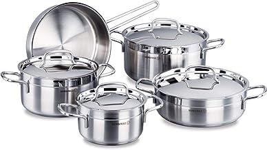 Korkmaz Alfa Cookware, Set Of 9 Piece [C-MX-A1660]