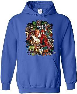 Stan-Lee All Super Heroes Thanks for The Memories 1922 2018 Hoodie
