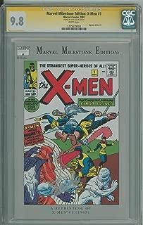 MARVEL MILESTONE EDITION: X-MEN #1 CGC 9.8 WHITE PAGES