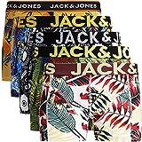 JACK & JONES Herren 5er Pack Boxershorts Mix Unterwäsche Mehrpack,5er Pack Bunt 2 Ohne...
