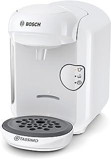 comprar comparacion Bosch TAS1404 Tassimo Vivy 2 - Cafetera Multibebidas Automática de Cápsulas, Diseño Compacto, color Blanco, Única