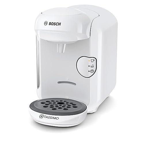 Bosch TAS1404 Tassimo Vivy 2, Cafetera automática de cápsulas, diseño compacto, 1300 W