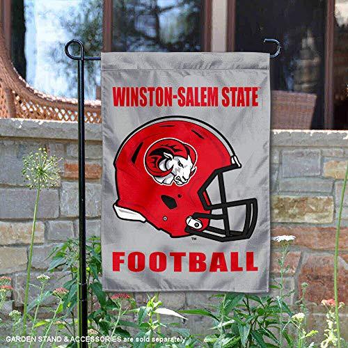 College Flags & Banners Co. Winston Salem State University Football Helmet Garden Flag