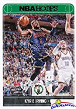 Kyrie Irving 2017/18 Panini Hoops #26 Card in MINT Condition! Shipped in Ultra Pro Toploader to Protect it! First Card in Celtics Uniform of Boston Celtics Newest Superstar! WOWZZER!